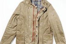 OLOVO T132 Waxed cotton jacket