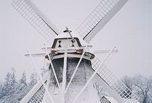 Windmill love by Double Dutch / Windmills create the flour that goes in to our very own pancake batter. They also inspired our logo. They're majestic and beautiful and we can't stop pinning them!