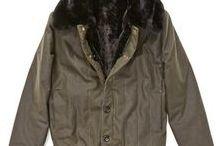 Bomber OLOVO / OLOVO Bomber jacket is based on the inner layer winter tanker  jacket