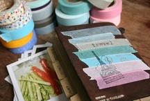 Dekortapasz kedvencek - Washi tape / A kedvenc dekortapasszal készített ötletek gyűjteménye.  My favourite ideas with washi tape.