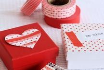 Dekortapasz Valentin nap - Washi tape Valentine's day