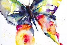 Schmetterlinge , Libellen .... / by E Sunny