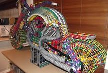 MY K'NEX CREATIONS / THESE ARE MY KNEX CREATIONS. I HAVE OVER 85 KGS OF KNEX THAT I'VE COLLECTED OVER THE YEARS. KEEP A EYE ON THIS BOARD AS MORE BIG BUILDS ARE UNDER CONSTRUCTION - GOD BLESS YA -  VINNIE