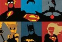 Super Heroes / ...because we all need one!  View our super hero posters (movie posters, comic book cover posters, and more), action figures, etc.