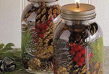 Mason Jars & Candles