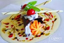 Caprice Restaurant / The fine dining experience in Limassol with a magical sea view. Italian cuisine at its best.