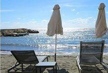 Londa Beach / Just meters from Londa Hotel and pool area, this beautiful sandy beach.