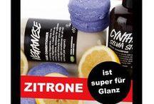 LUSH ♥ dein Haar / Lush-Produkte mit Zitrone