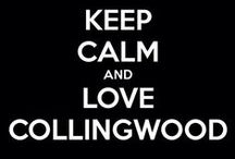 COLLINGWOOD  FOREVER / This board belongs to ELI BENTLEY