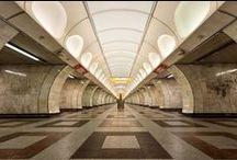 Prague Metro Stations / The unique design of metro stations in Prague!