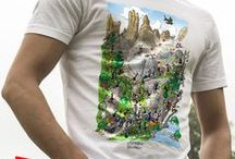 T-shirt Formiche / Linea abbigliamento delle Formiche di Fabio Vettori. Magliette, abbigliamento sportivo, borse e grembiuli