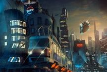 Prague | Future & Fantasy / How do you imagine Prague in the far future?!...as a hi-tech metropolis, sci-fi scenery with no borders, or do you think that some apocalypse could sweep it away?