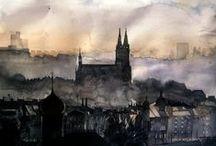 Prague in Fine Art