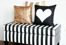 Monochrome / Who can resist the joys of black and white? Two colours that always look perfect together.
