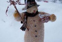 I Love Snowman