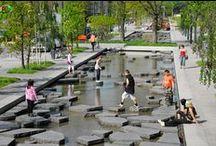 PRO | Paisagismo Urbano / Intervenção paisagística em espaço público: arborização, vegetação, mobiliário, passarelas, escadarias, coberturas, etc.