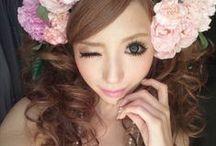 Hime Gyaru. / Princess gal style