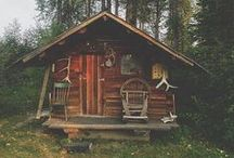 Shacks, baches & cabins - In the woods & by the sea