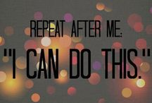 Inspiring Quotes / Start your day with some motivating and moving quotes! Life's too short!