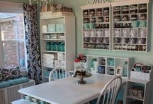 Craft Rooms / Craft room inspiration large or small