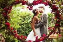 Love Weddings: Colour Me Red / Weddings can be the most gorgeous occasions and in recognition of this we have pulled together wedding ideas with hints of red which our red Chocolate Bouquets & Trees will compliment beautifully as table centre pieces!