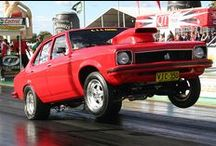 TORQUE IT UP / WHEELSTANDS ON THE QUARTER MILE STRIP
