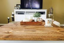 RainyTables / Reclaimed wood,  Rustic wood tables,