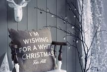 We're dreaming of... / a white christmas - that's clean, stylish and bright. Happy holidays!