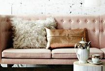 Warm Metals / Create a warm and inviting environment to unwind in at the end of a day using a range of gold, brass, copper and bronze accessories as the finishing touches to each room. The contrast of the warm metal against a neutral colour scheme will create a brighter and more alluring atmosphere...