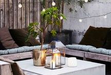 Outdoor Oasis / Step outdoors this summer into your perfect alfresco space... a relaxing den, a tranquil tepee garden or a vibrant space to entertain the whole family! From furniture and day beds to quirky accessories and how to's…