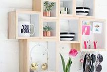Sleek Spring Storage / After your Spring clean it's time to get your house in check... Storage hacks and ideas for every room, in every house! Practical, stylish and achievable! Fun ways to tidy away kids bedrooms and sleek ways to get your living room in order.