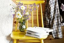 Sunshine Décor / Adding a burst of sunshine to your home can be as subtle or powerful as you desire. Take a scroll through our gloriously vibrant hues to suit every home. Add a summery burst to your living room with bold accessories, cushions and throws. Or go for the full sunshine effect with a lemon feature wall or a vivacious door.