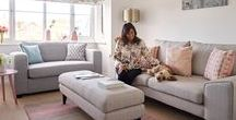 Scandi Style #mydfs / Modern scandi with a twist! Starting with the ultimate blank canvas, New Build Inspire has taken elements of the ever popular Scandi look and given them a modern twist.  Read more at http://www.dfs.co.uk/content/scandi-style