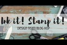 Ink it! Stamp it! Using Stampin' Up! Products