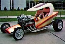 SHOW CARS, CUSTOMS & BIKES FROM THE 50's,60's,70's,80's & 90's / by Snooks Thomas