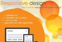 Infographics / Informatieve tabellen en afbeeldingen binnen de digitale media, social media en webdesign.