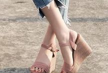 Wedges! Wedges! Wedges! / #Wedge Heels  #Wedge Sandals #fashion