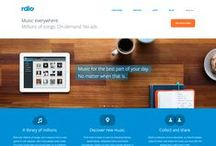 Web design - Flat Design