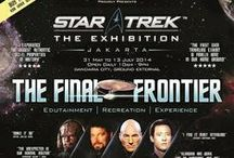 Star Trek The Exhibition / Star Trek : The Exhibition - The Final Frontier,  on 31 May to 13 July 2014 at Gandaria City, Jakarta, Indonesia