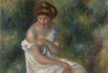 Art ~ Renoir Pierre-Auguste /  Limoges 1841 - Cagnes-sur-Mer 1919