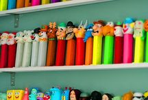 Pez dispensers / by ~Jeni Coburn~