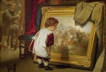 ❖ Art inside Art ❖ / Museum galleries - The Artist's Studio