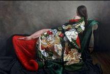 ❖ Woman's Kimono ❖ Art