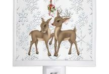Deluxephotos Happy Holidays / Great Christmas holiday products that are warm welcome to any cabin, home or office.
