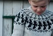 inspiration: nordic knit / Nordic knit that would be nice in a kids collection