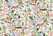 inspiration: prints, floral / Floral prints