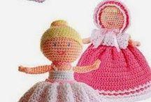 Crochet - bambole