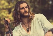 Spittle.....hah / Longhair  or beautiful men.