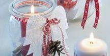 Weihnachtsdeko/ Vorweihnachtszeit / Deko Draussen und Drinnen
