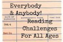Reading Challenges / Looking for a way to diversify your reading or step outside your comfort zone?  Why not try a reading challenge?